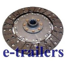 "9"" CLUTCH PLATE FOR THWAITES BENFORD WINGET TEREX DUMPERS - SUPERB QUALITY - FAST DELIVERY"